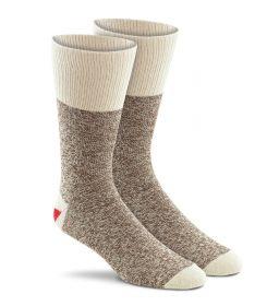 Red Heel Monkey Sock, 6851-2BRN, Brown