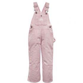 Key Boys/Girls Bib Overalls, 225.68, Pink Stripe
