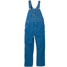 Key High Back Bib Overall Enzyme Washed