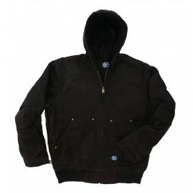 Fleece Lined Hooded Jacket
