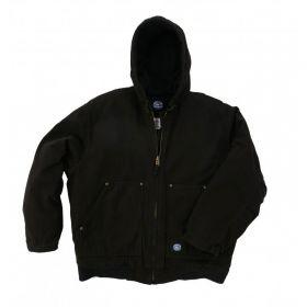 Insulated Hooded Fleece Lined Jacket