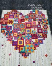 Boho Heart Booklet JKD-8588