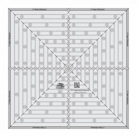 """Creative Grids® 14 ½"""" Square It Up or Fussy Cut Square Quilt Ruler, CGRSQ14"""