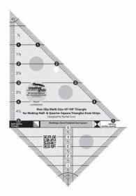 Creative Grids® Multi-Size 45° & 90° Triangle Ruler, CGRMS4590