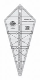 """Creative Grids® Starburst 30 Degree Triangle Quilt 9 ½"""" Ruler, CGRISE30"""