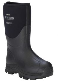 Dryshod Mens Artic Storm Mid ARS-MM-BK BlackGrey