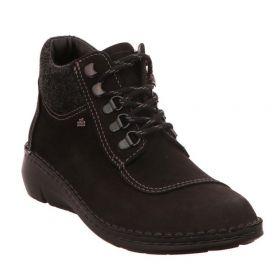 Finn Comfot Womens Lace-Up Boots 2599-901863 Black
