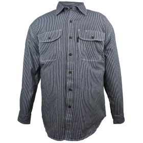Five Brother Hickory Button Front Logger Shirt 590347
