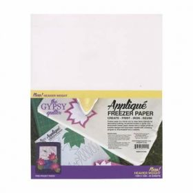 Gypsy Quilter Freezer Paper 12in x 15in Heavy Weight 40ct TGQFP1215H