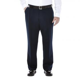 Haggar Big  Tall Classic Fit 41714957522-96X Navy