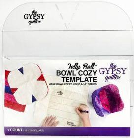 Jelly Roll Bowl Cozy Template TGQ051
