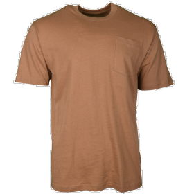 Key Blended Pocket T-Shirt 82224 Khaki