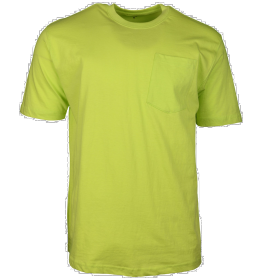 Key Blended Pocket T-Shirt 82234 Neon Green