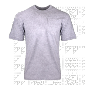 Key Heavyweight Pocket T-Shirt 82005 Heather gray