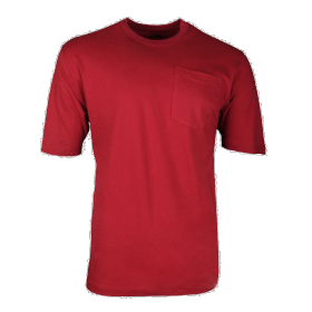 Key Heavyweight Pocket T-Shirt 82063 Red