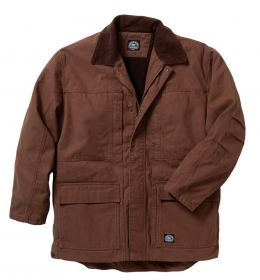 Premium Insulated Fleece Lined Duck Chore Coat-Washed Finish 37728X