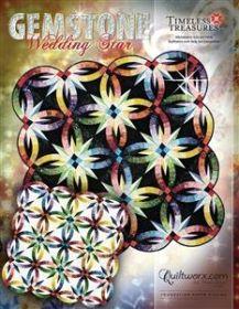 Quiltworx Gemstone Wedding Star JNQ172P
