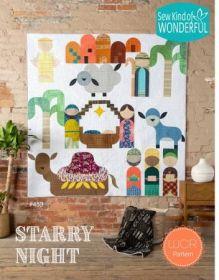 Starry Night Nativity Pattern SKW453