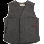 Stormy Kromer Button Vest 52510-901 Charcoal