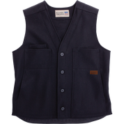 Stormy Kromer Button Vest 52510-999 Black