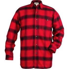 Stormy Kromer Flannel Plaid Shirt 55210-305 RedBlk