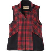 Stormy Kromer Ida Outfitter Vest 52570-98F BlackRed Tartan