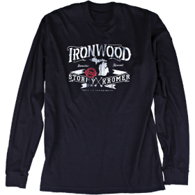Stormy Kromer Long Sleeve Ironwood Tee 53100-00F Black