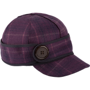 Stormy Kromer The Button Up Cap 50390-348 Plum Passion