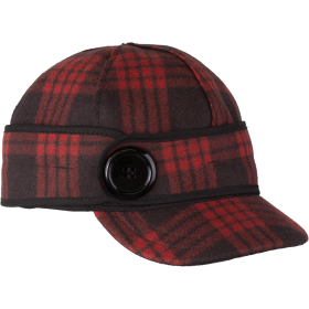 Stormy Kromer The Button Up Cap 50390-98F RedBlack Tartan