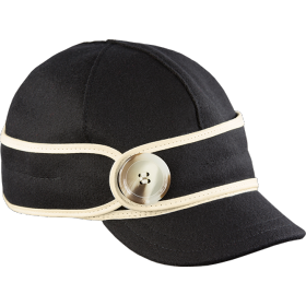 Stormy Kromer The Button Up Cap 50390-999 BlackWht