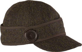 Stormy Kromer The Button Up Cap with Harris Tweed 50380-574 Luxmore