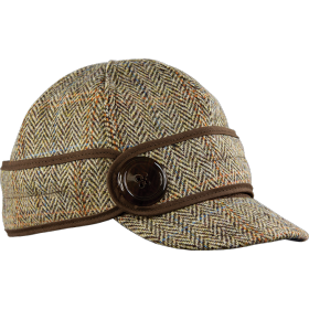 Stormy Kromer The Button Up Cap with Harris Tweed 50380-74S Sutherland