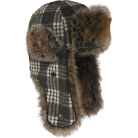 Stormy Kromer The Northwoods Trappers Hat 51210-032 CharWht Tartan