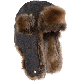 Stormy Kromer The Northwoods Trappers Hat 51210-901 Charcoal