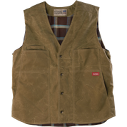 Stormy Kromer Waxed Button Vest 52530-75S Sand