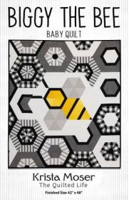 The Quilted Life Biggy The Bee Fabric Kit