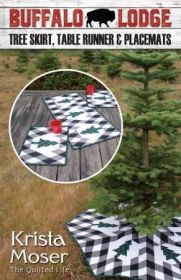 The Quilted Life Buffalo Lodge Tree Skirt Fabric Kit