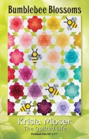 The Quilted Life Bumblebee Blossoms Fabric Kit
