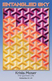The Quilted Life Entangled Sky Fabric Kit