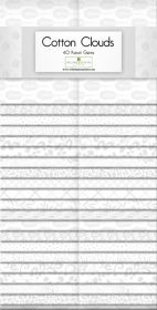 Wilmington Prints Pre-Cuts Cotton Clouds 2 12 Strips 842-70-842