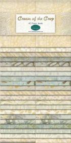 Wilmington Prints Pre-Cuts Cream Of The Crop 2 12 Strips 841-69-841