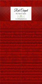 Wilmington Prints Pre-Cuts Essentialsredcarpet 2  Strip Set Packs 842-32-842
