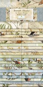 Wilmington Prints Pre-Cuts Forest Study 2 12 Strips 840-651-840