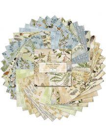 Wilmington Prints Pre-Cuts Forest Study 5 Squares 508-651-508