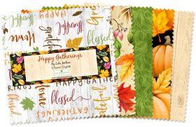 Wilmington Prints Pre-Cuts Happy Gatherings 5 Squares 508-567-508