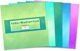 Wilmington Prints Pre-Cuts Ombre Washart 5 Squares 507-35-507