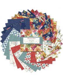 Wilmington Prints Pre-Cuts Roots of Love 5 Squares 508-657-508