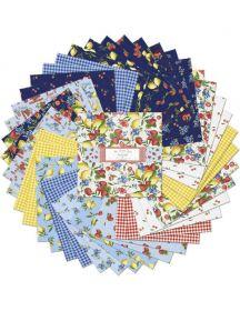 Wilmington Prints Pre-Cuts The Berry Best 10 Squares 518-650-518