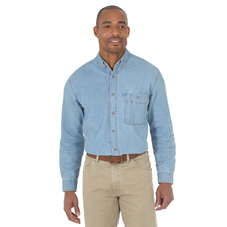 Wrangler Rugged Wear Denim Basic Shirt