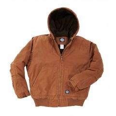 Insulated Fleece Lined Hooded Jacket